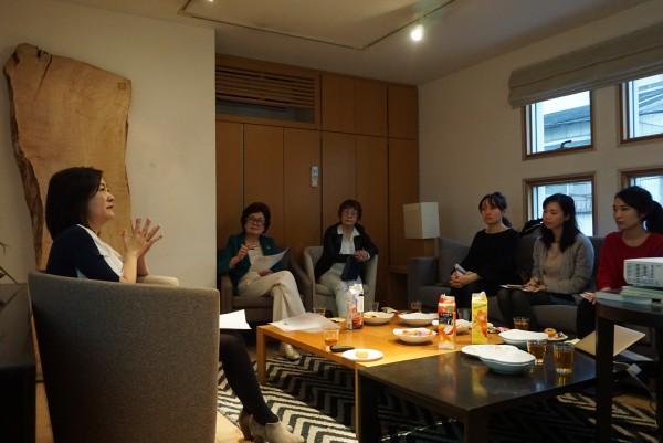 黒田由貴子氏の講演会のようす