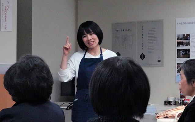 石田ユキ氏の講演