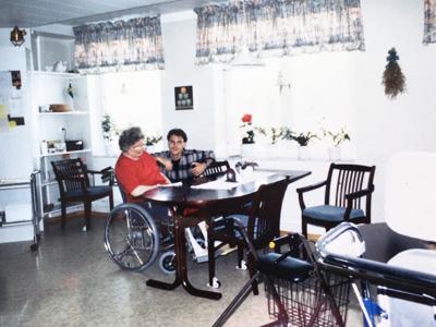 スウェーデンの老人ホーム
